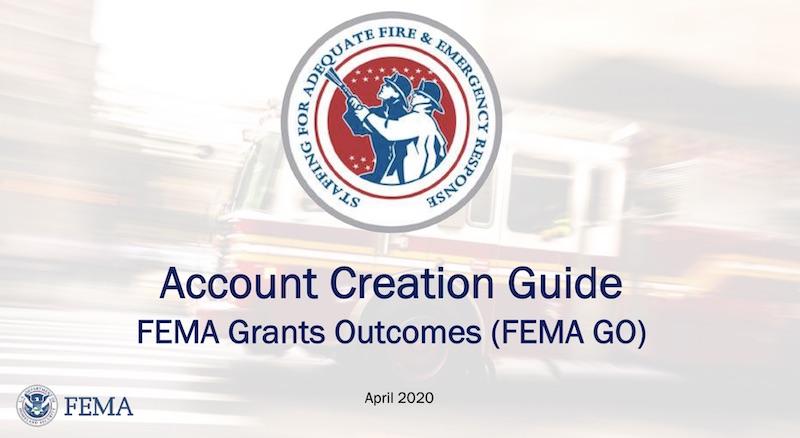 FEMA GO Account Creation Guide