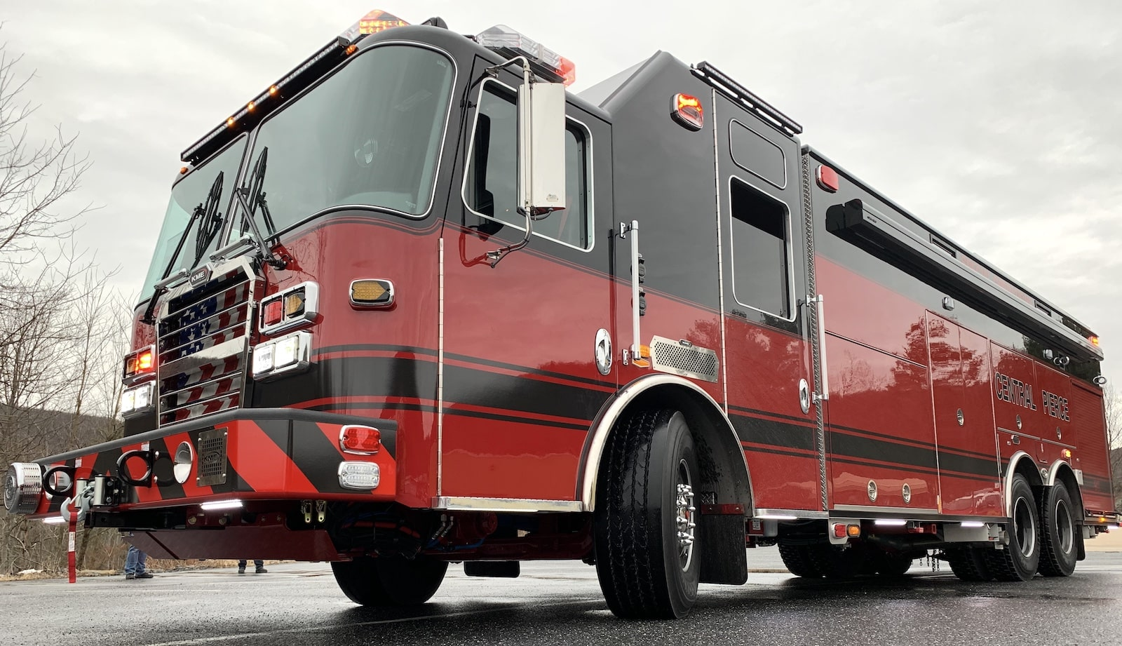 In March 2020, Central Pierce Fire and Rescue, Washington, took delivery of an $800,000 Rescue 61 (GSO 11050) from KME thanks to an AFG grant